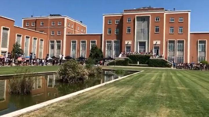 La facultad de agrónomos de la UCM, abarrotada de aspirantes a concursante de OT 2018.