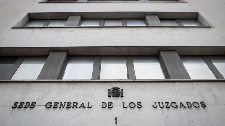 Sede de los juzgados de Plaza Castilla.