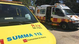 Ambulancia del Summa en una foto de archivo.