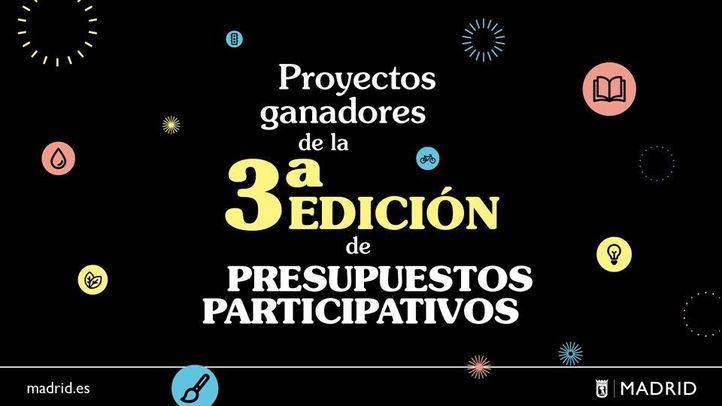3ª edición de los Presupuestos Participativos en Madrid.