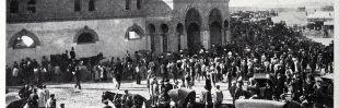 Inauguración de la plaza de toros de Vistalegre en 1908.