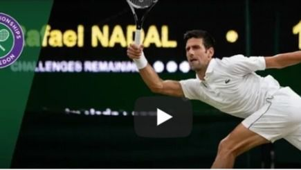 Nadal-Djokovikc, duelo épico en Wimbledon