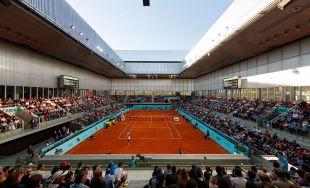 Partido del Mutua Madrid Open.