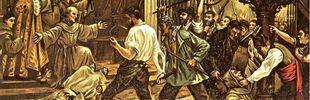 La epidemia de cólera que viró en matanza de frailes