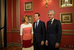 Pablo Casado afirma que integrará a Santamaría: