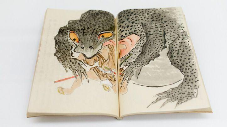 Exposición Yokai: iconografía de los fantástico, en la Real Academia de Bellas Artes de San Fernando.