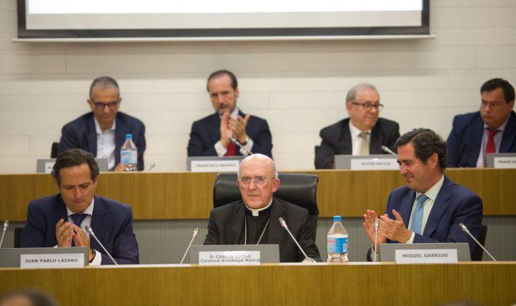 El cardenal Osoro ensalza a los empresarios como ejemplo de la 'cultura del encuentro'