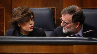Mintió Rajoy: sí quiso preparar la sucesión con Santamaría y pidió a Cospedal que la apoyara