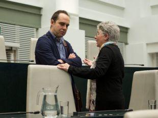 Rifirrafe en Ahora Madrid: José Manuel Calvo vs. los