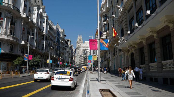 Los accesos a Madrid Central, controlados por cámaras
