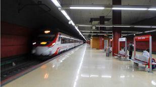 Estación de Getafe Centro.