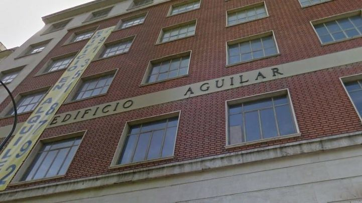 Antiguo Edificio Aguilar, en la calle Juan Bravo