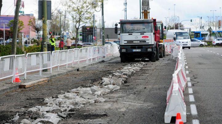 El asfaltado de calles es una de las competencias sobre obras en vías públicas que pasa a los distritos.