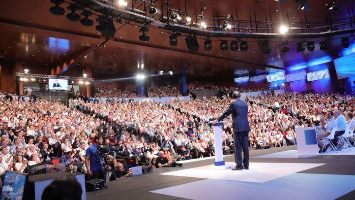 Mariano Rajoy se despidió ayer de la presidencia del PP