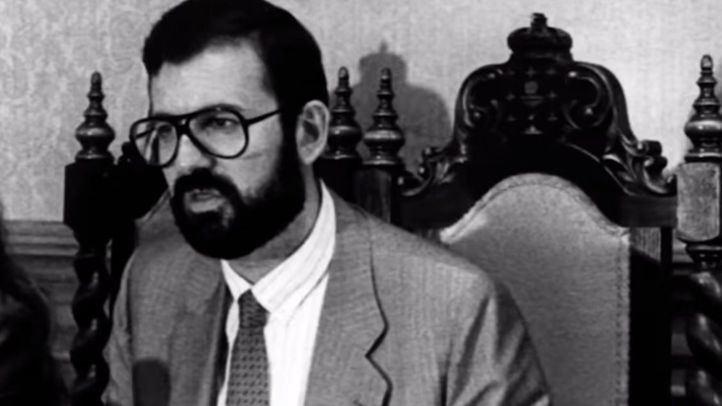 Rajoy en su época de parlamentario de Galicia