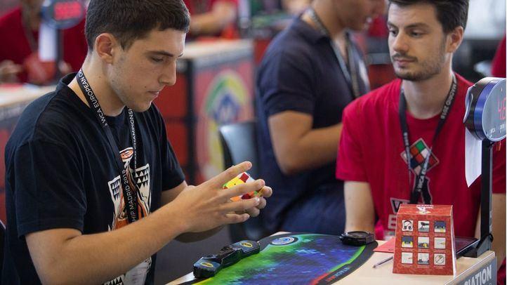 Prueba de 4x4x4 del Campeonato Europeo de Rubik.