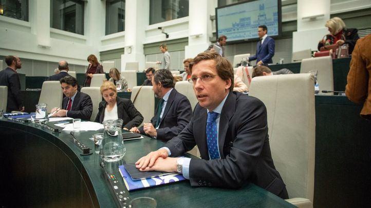 El portavoz del grupo municipal del Partido Popular, José Luis Martínez-Almeida, en una foto de archivo.