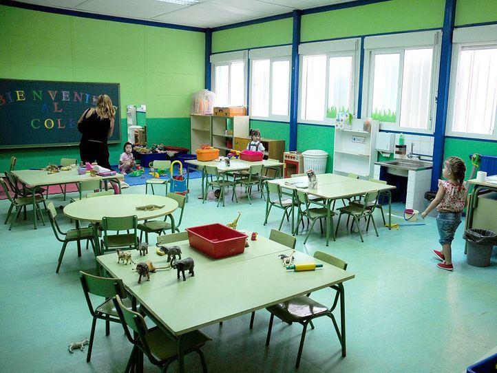 guarderia o escuela infantil en un colegio publico de Villaverde