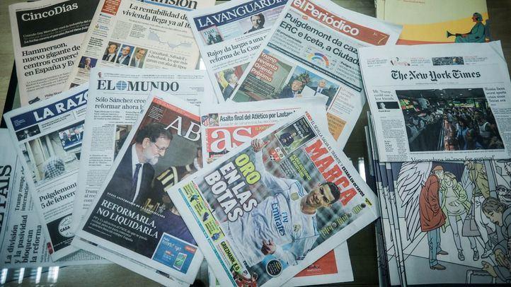 Periódicos de prensa escrita.