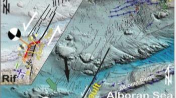 Identifican una nueva falla en el mar de Alborán