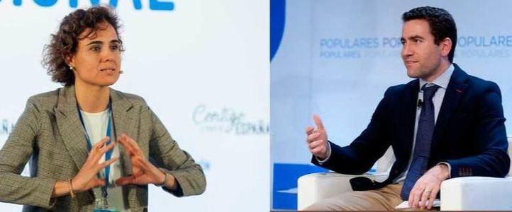Montserrat y Egea serán dos de las caras más visibles del PP de Casado.