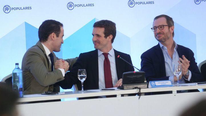 Pablo Casado ha anunciado este jueves en Barcelona la composición del nuevo Comité Ejecutivo del partido.