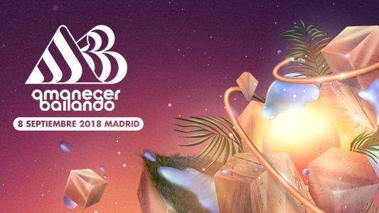 Cartel del Festival Amanecer Bailando.