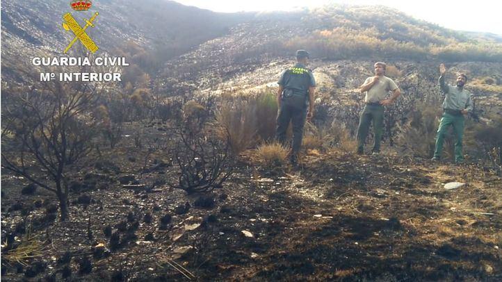 Incendio que arrasó 9.000 hectáreas en León en agosto de 2017.