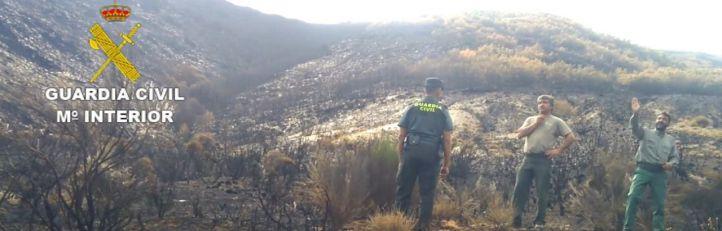 Detenido como presunto autor del incendio de León
