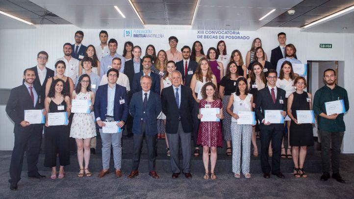 La Fundación Mutua Madrileña concede 40 nuevas becas de posgrado en el extranjero