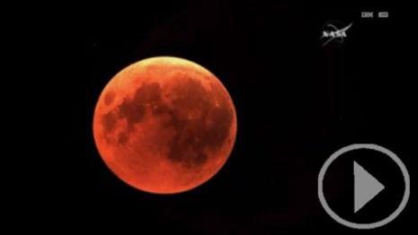 Luna de sangre: el eclipse más largo del siglo