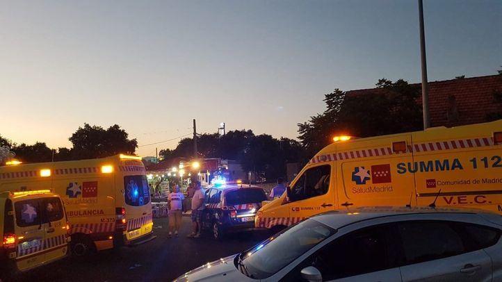 Atropello en Colmenarejo: arrollados tres niños