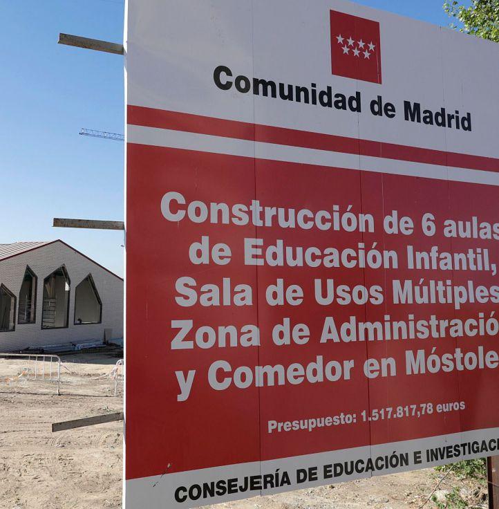 Móstoles estrenará nuevo colegio bilingüe en septiembre