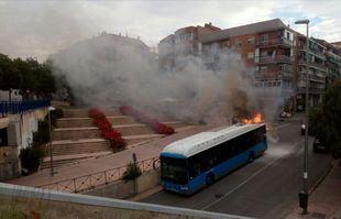 Los incendios de los buses de la EMT,