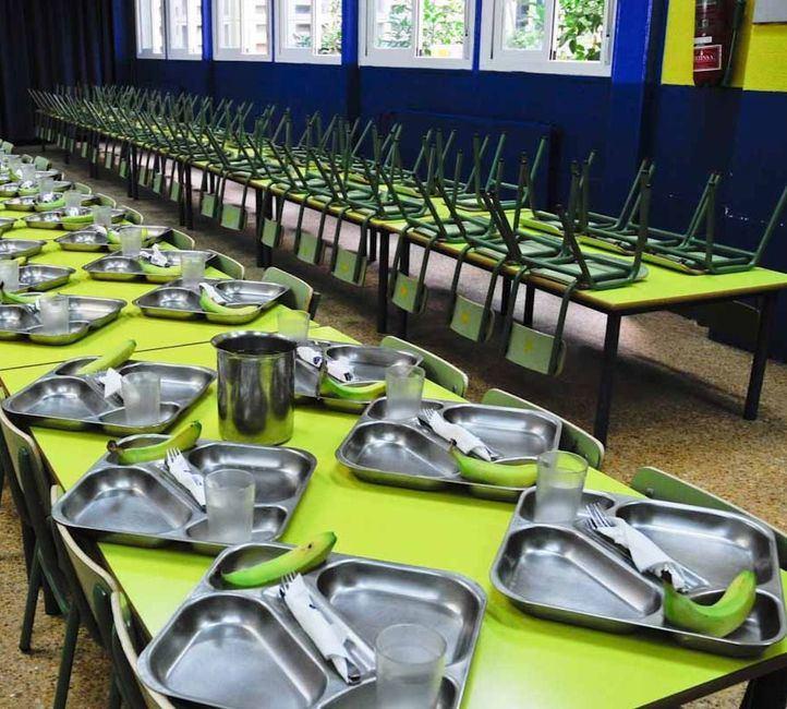 El Gobierno regional becará el comedor a más de 2.000 alumnos