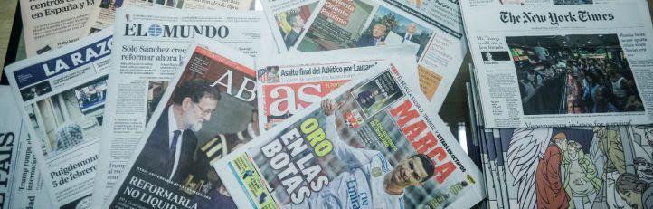 Cesa la huelga: la prensa vuelve a los quioscos