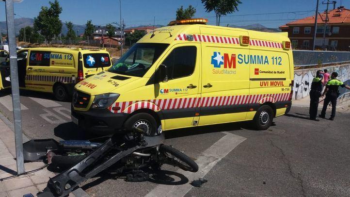 El herido ha sido trasladado con pronóstico grave al Hospital Puerta de Hierro Majadahonda
