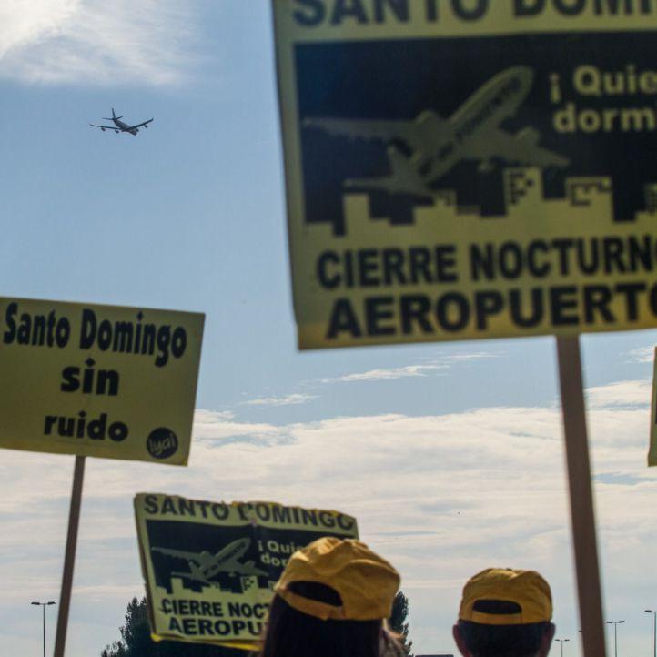 El ruido de los aviones en Santo Domingo, dentro de los límites