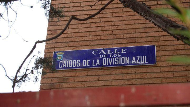 Calle Caídos de la División Azul, una de las afectadas.