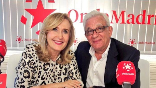 Jesús Sánchez Martos junto a Nieves Herrero en Madrid Directo.