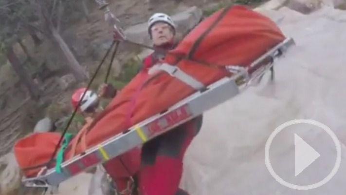 El GERA rescata a un montañero en la Pedriza