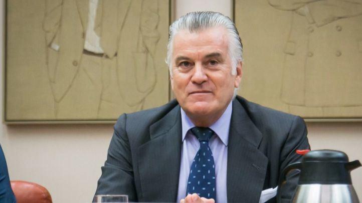Luis Bárcenas, ex tesorero PP, en la Comisión de investigación de la presunta financiación ilegal del PP.