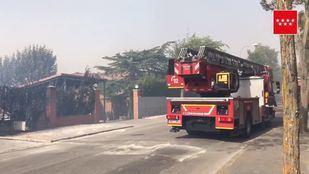 Incendio en Alalpardo.