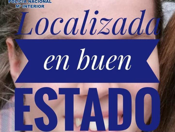 Localizada la menor desaparecida en Madrid