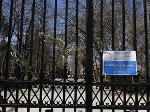 El viento obliga a cerrar El Retiro y otros cinco parques