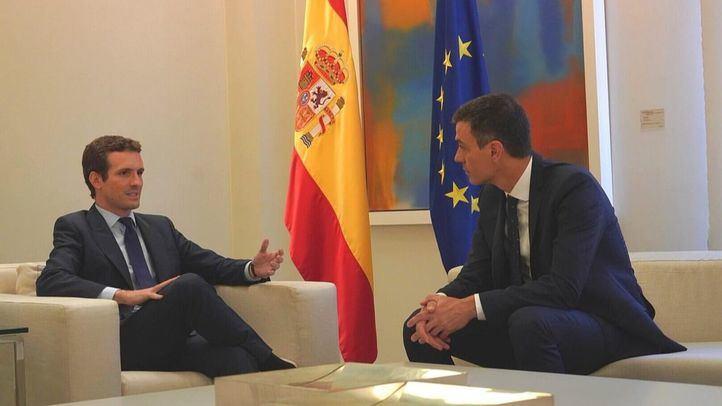 Sánchez no comenta la posible imputación pero pide que Casado dé explicaciones