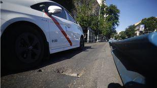 Un taxista amenaza con un cuchillo a un conductor de VTC