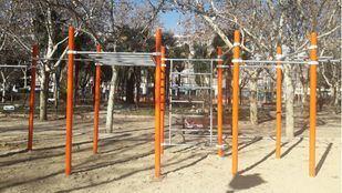 Instalaciones deportivas al aire libre.