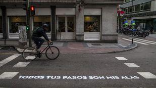 Los pasos de cebra de Madrid se llenarán de poesía en octubre