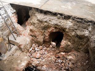 Patrimonio determinará esta semana el valor de las galerías desenterradas en Fuencarral